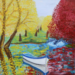 Mostra di pittura di Stefka Grigorova