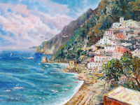 Mostra di pittura di Rossella Baldino