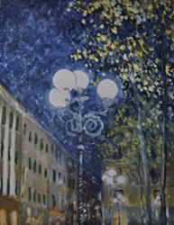 Mostra di pittura di Erkki Lepik