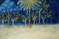 Mostra di pittura di Viktorija Skafaru