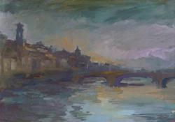 Mostra di pittura di Gino Tili