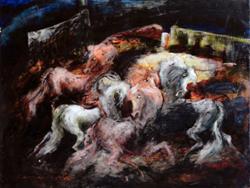 Mostra di pittura di Gianni Testa