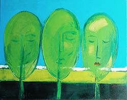 Mostra di pittura di Elga Grinvalde (in arte Ellgrii)