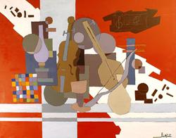 Mostra di pittura di Renato Bristot