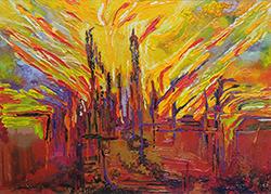 Mostra di pittura di Beatrice Santucci