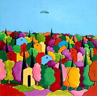 Mostra di pittura di Luca Albizi
