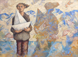 Mostra di pittura di Giampaolo Talani