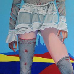 Mostra di pittura di Giorgio Sebastiano Giusti