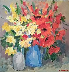 Mostra di pittura di Marcello  Bertini