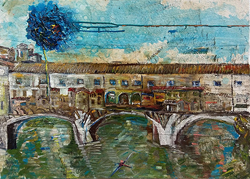 Painting exhibition by Manuela Morandini
