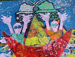 Mostra di pittura di Giorgio Bertin