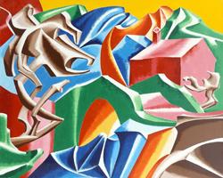 Mostra di pittura di Giorgio Mazzetti