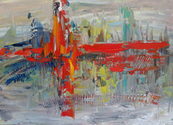 Mostra di pittura di Nino Dandlishvili