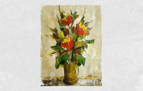 <br /><br />Vaso di fiori<br /><br /><em>Alviero Tatini</em>